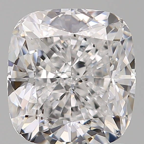 1.52 Carat Cushion Loose Diamond, D, SI1, Super Ideal, GIA Certified | Thumbnail