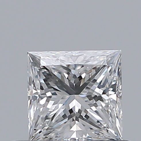 0.40 Carat Princess Loose Diamond, E, VS2, Ideal, GIA Certified