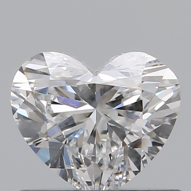 0.50 Carat Heart Loose Diamond, E, SI1, Ideal, GIA Certified