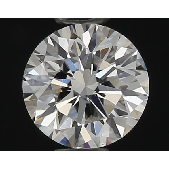 0.30 Carat Round Loose Diamond, F, VS1, Ideal, GIA Certified