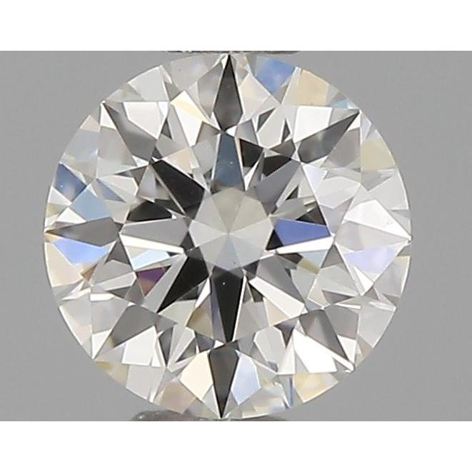 0.30 Carat Round Loose Diamond, I, VS1, Super Ideal, GIA Certified