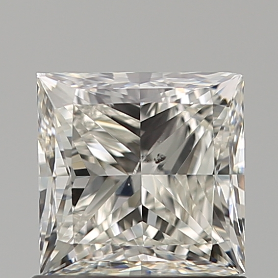 1.00 Carat Princess Loose Diamond, I, SI1, Ideal, GIA Certified