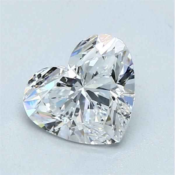1.05 Carat Heart Loose Diamond, D, SI1, Super Ideal, GIA Certified