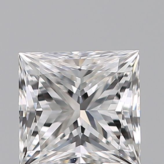 0.35 Carat Princess Loose Diamond, D, VS1, Super Ideal, GIA Certified