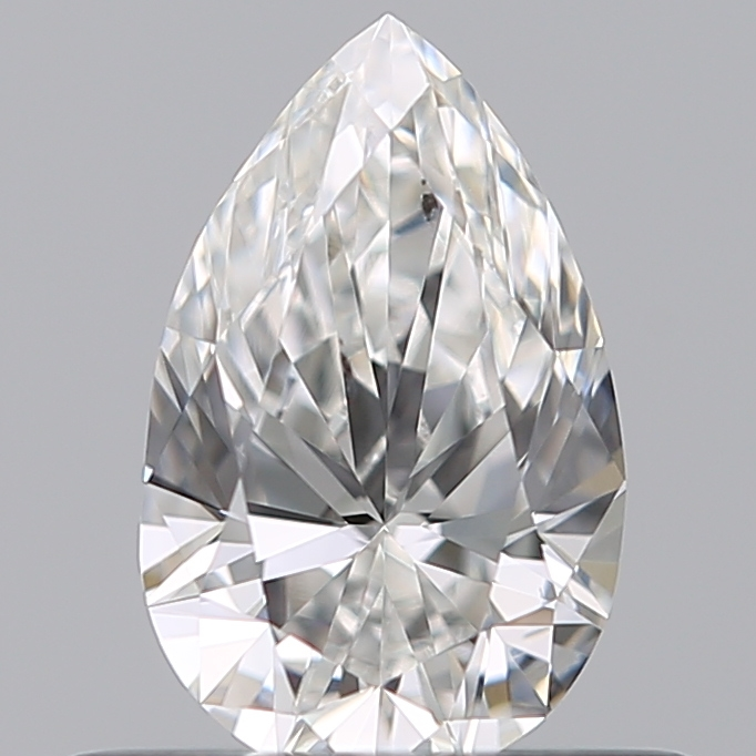 0.42 Carat Pear Loose Diamond, E, SI1, Ideal, GIA Certified | Thumbnail