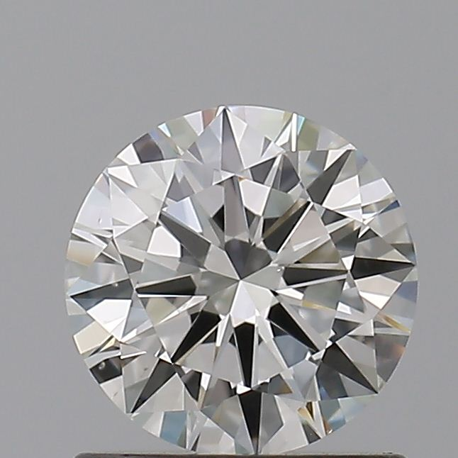 0.70 Carat Round Loose Diamond, I, VS2, Ideal, GIA Certified