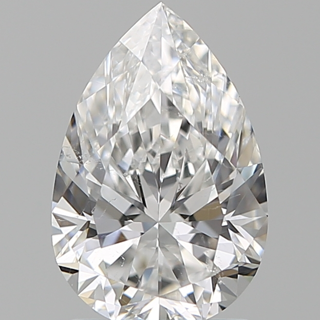 1.51 Carat Pear Loose Diamond, E, SI1, Super Ideal, GIA Certified | Thumbnail