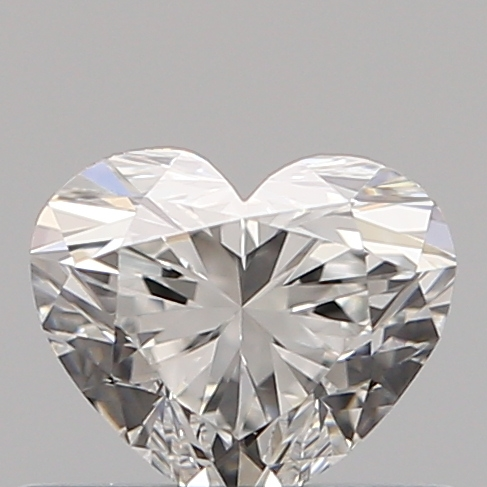 0.46 Carat Heart Loose Diamond, F, VS2, Super Ideal, GIA Certified
