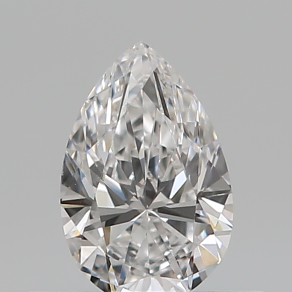 0.31 Carat Pear Loose Diamond, D, VVS1, Ideal, GIA Certified