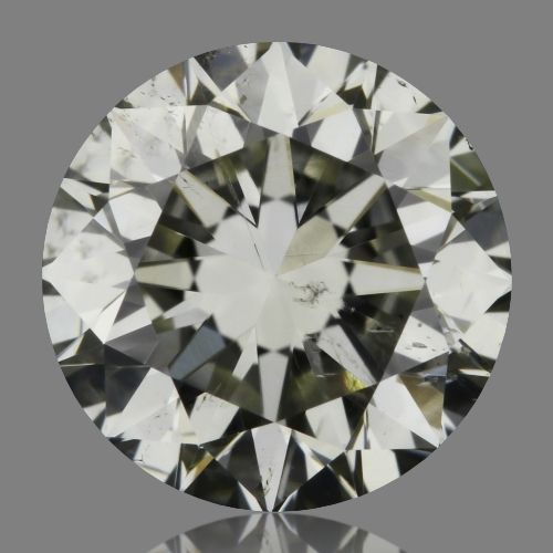 1.01 Carat Round Loose Diamond, K, SI2, Excellent, GIA Certified