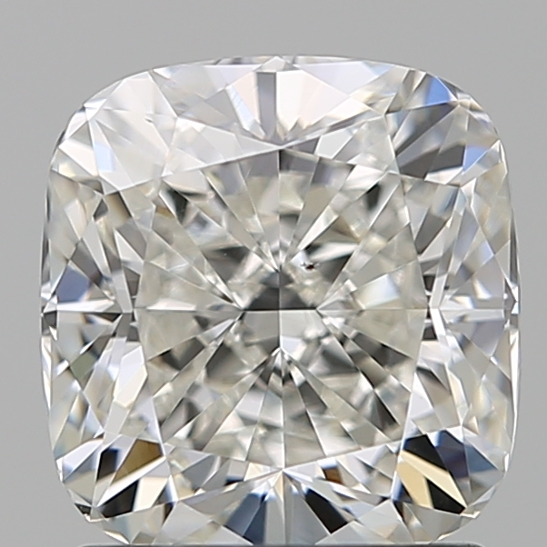 1.51 Carat Cushion Loose Diamond, I, VS2, Super Ideal, GIA Certified