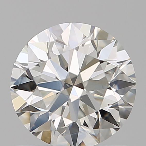 0.75 Carat Round Loose Diamond, I, VS2, Super Ideal, GIA Certified