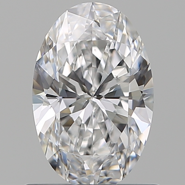 0.70 Carat Oval Loose Diamond, D, VS2, Ideal, GIA Certified