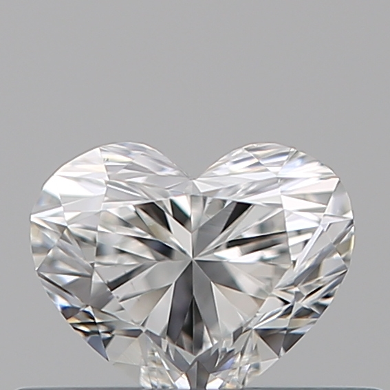 0.33 Carat Heart Loose Diamond, F, VS2, Super Ideal, GIA Certified