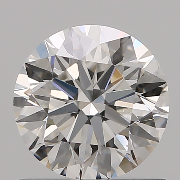 0.70 Carat Round Loose Diamond, F, VS2, Super Ideal, GIA Certified