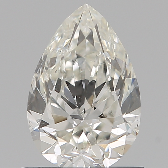 0.70 Carat Pear Loose Diamond, I, SI1, Excellent, GIA Certified