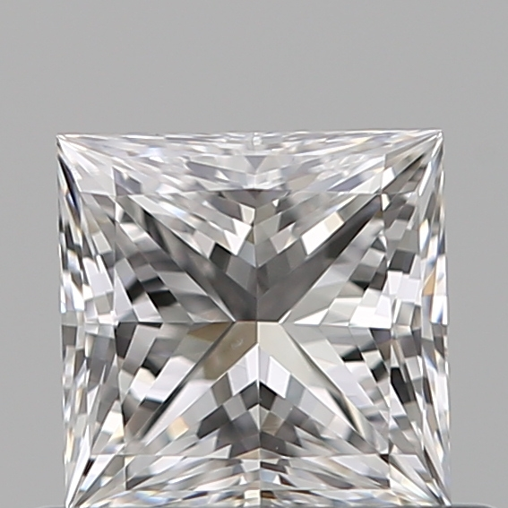 0.51 Carat Princess Loose Diamond, E, VS1, Super Ideal, GIA Certified