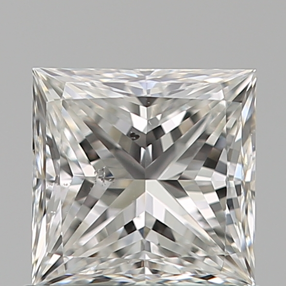 0.80 Carat Princess Loose Diamond, F, SI1, Ideal, GIA Certified