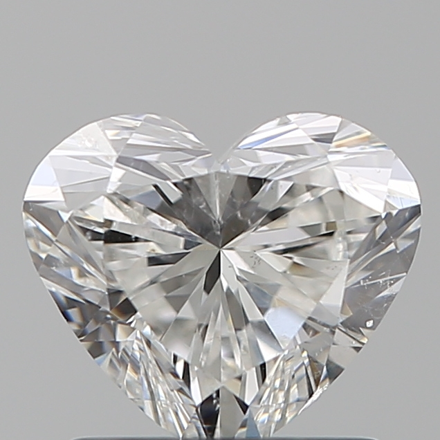 1.02 Carat Heart Loose Diamond, G, SI2, Super Ideal, GIA Certified
