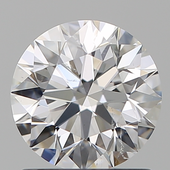 1.01 Carat Round Loose Diamond, E, SI1, Super Ideal, GIA Certified