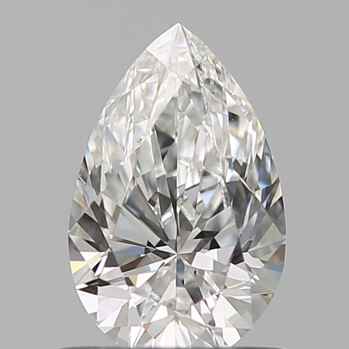 0.72 Carat Pear Loose Diamond, E, VS1, Super Ideal, GIA Certified