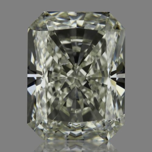 1.00 Carat Radiant Loose Diamond, J, SI2, Super Ideal, GIA Certified | Thumbnail