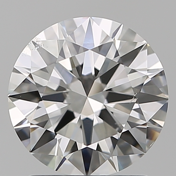 1.51 Carat Round Loose Diamond, G, SI1, Super Ideal, GIA Certified