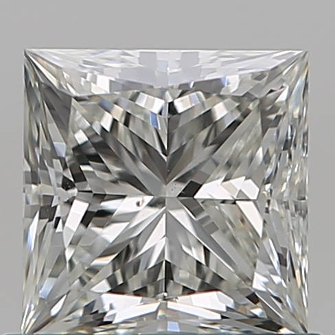 0.75 Carat Princess Loose Diamond, J, VS2, Ideal, GIA Certified