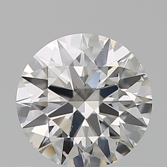 0.55 Carat Round Loose Diamond, E, SI1, Super Ideal, GIA Certified