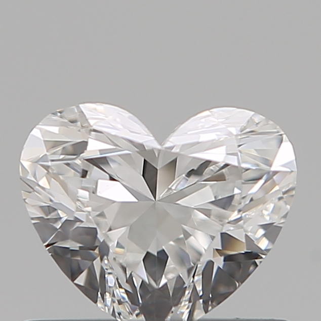 0.51 Carat Heart Loose Diamond, E, VS1, Ideal, GIA Certified