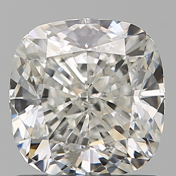 1.20 Carat Cushion Loose Diamond, H, VS2, Super Ideal, GIA Certified