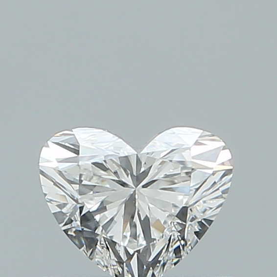 0.43 Carat Heart Loose Diamond, F, VS1, Super Ideal, GIA Certified | Thumbnail