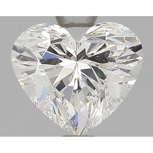 0.92 Carat Heart Loose Diamond, F, VS2, Super Ideal, GIA Certified