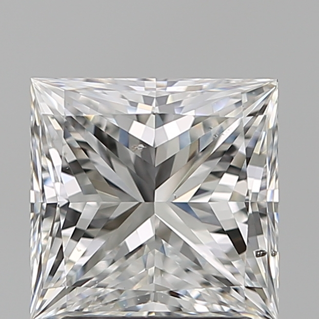 2.01 Carat Princess Loose Diamond, E, SI1, Super Ideal, GIA Certified