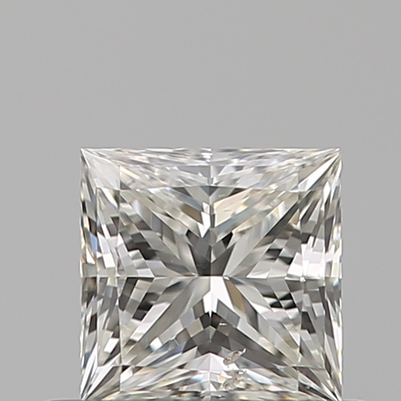 0.50 Carat Princess Loose Diamond, H, SI2, Ideal, GIA Certified