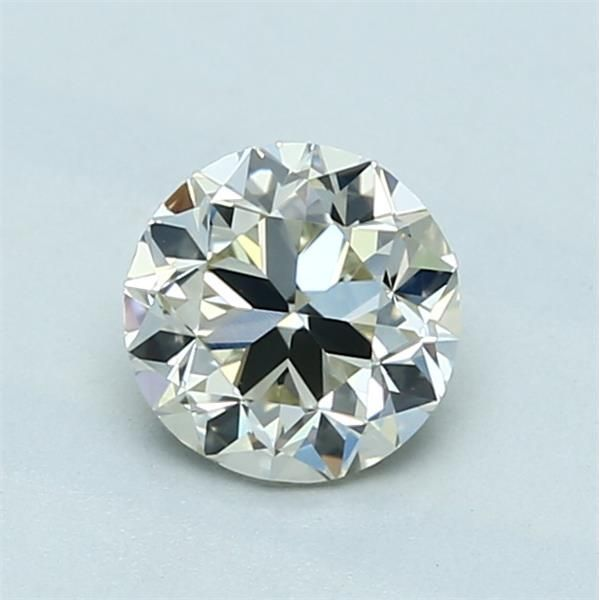 0.90 Carat Round Loose Diamond, L, VS1, Good, GIA Certified
