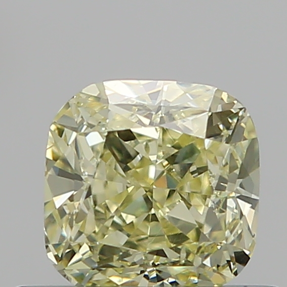 0.50 Carat Cushion Loose Diamond, FANCY, SI1, Excellent, GIA Certified