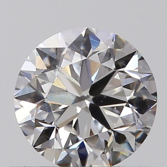 0.40 Carat Round Loose Diamond, F, VS1, Excellent, GIA Certified