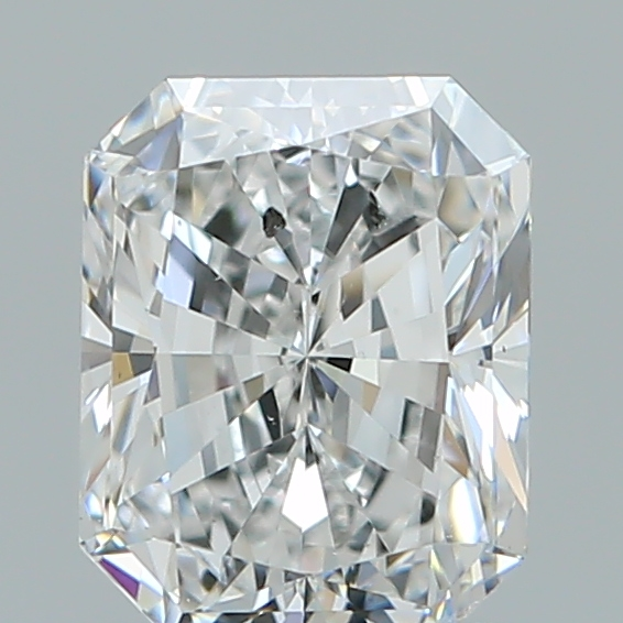 1.28 Carat Radiant Loose Diamond, F, SI2, Super Ideal, GIA Certified