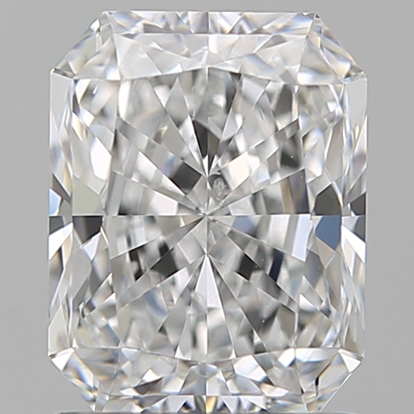 1.29 Carat Radiant Loose Diamond, D, SI2, Super Ideal, GIA Certified