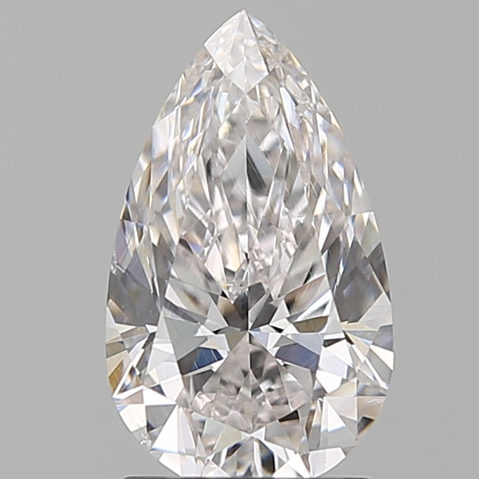 1.50 Carat Pear Loose Diamond, F, SI1, Super Ideal, GIA Certified | Thumbnail
