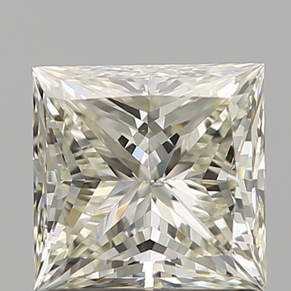 1.03 Carat Princess Loose Diamond, L, SI2, Super Ideal, GIA Certified