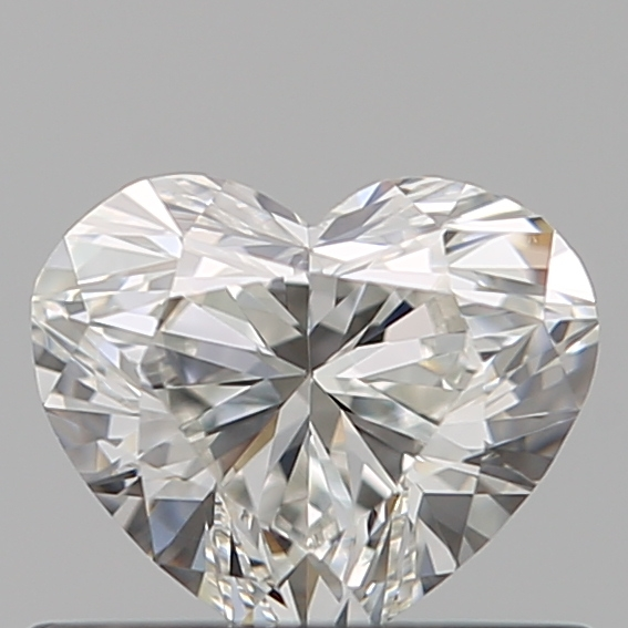 0.50 Carat Heart Loose Diamond, G, VS1, Super Ideal, GIA Certified | Thumbnail