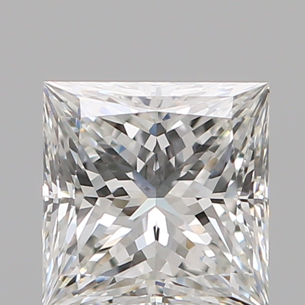 1.04 Carat Princess Loose Diamond, H, VS1, Super Ideal, GIA Certified
