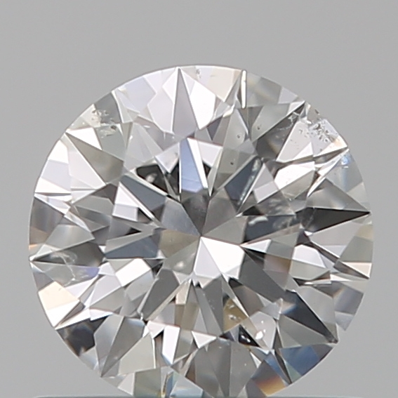 0.65 Carat Round Loose Diamond, E, SI2, Super Ideal, GIA Certified
