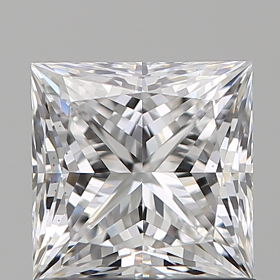1.03 Carat Princess Loose Diamond, D, VS1, Super Ideal, GIA Certified