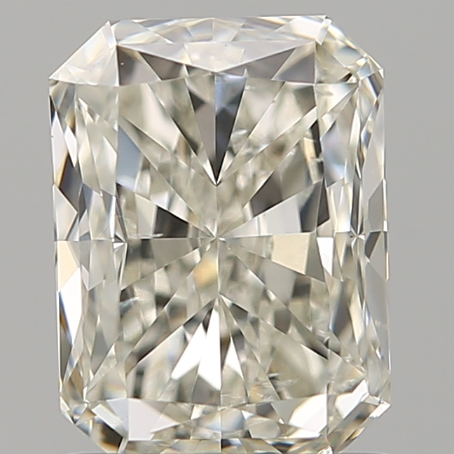 1.21 Carat Radiant Loose Diamond, J, SI1, Excellent, GIA Certified