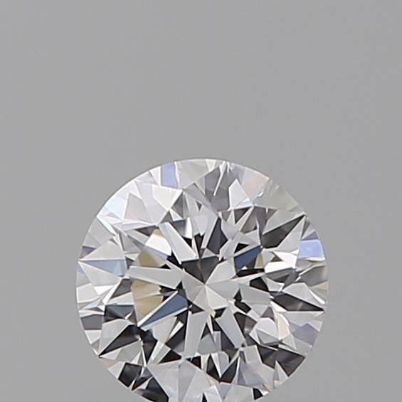 0.37 Carat Round Loose Diamond, D, VVS2, Super Ideal, GIA Certified