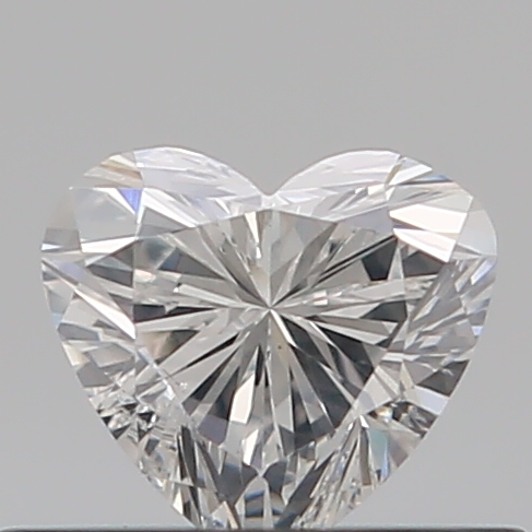 0.31 Carat Heart Loose Diamond, E, VS2, Excellent, GIA Certified