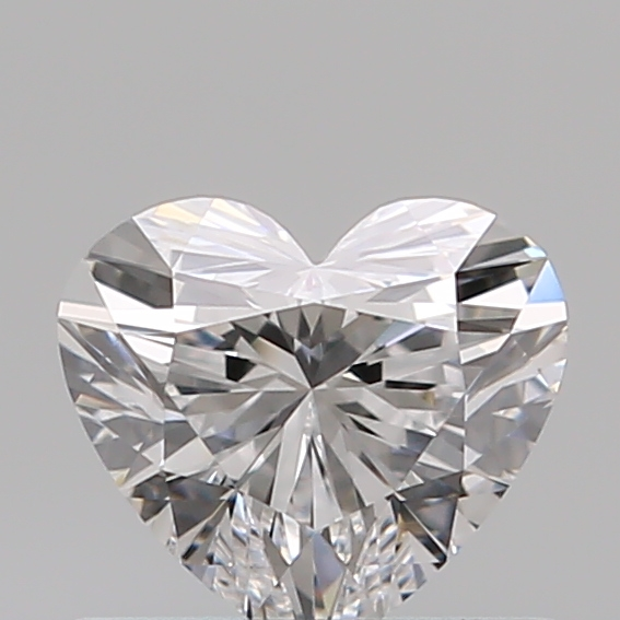 0.51 Carat Heart Loose Diamond, D, IF, Super Ideal, GIA Certified